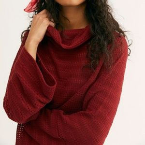 """FREE PEOPLE """"Delta Hacci"""" Sweater"""